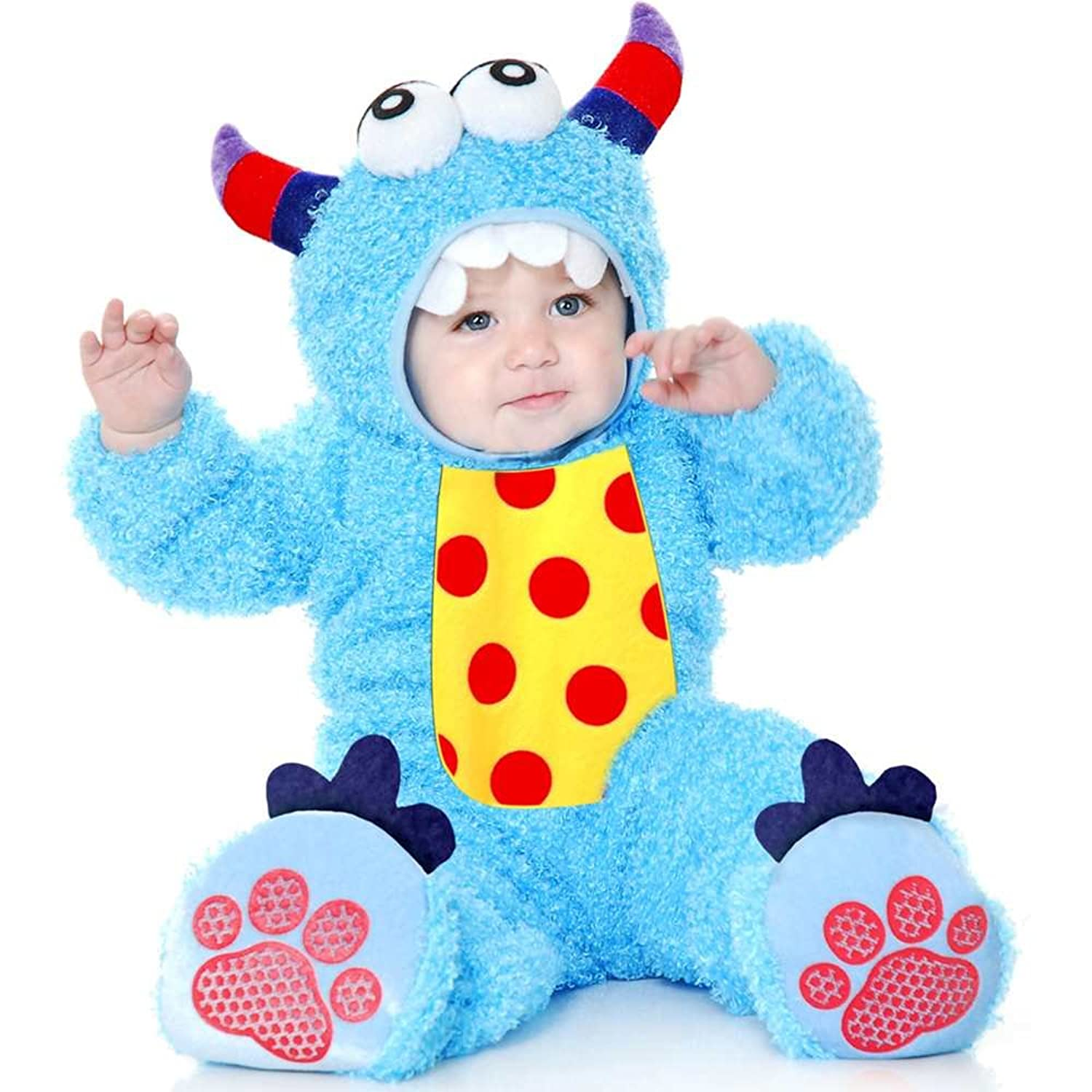 Amazon.com Costumes Little Monster Madness Infant - Blue-Infant Toys u0026 Games  sc 1 st  Amazon.com : lil monster halloween costume  - Germanpascual.Com