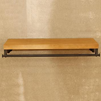 GJM Shop perchero de pared / de pie --- --- madera + acero ...