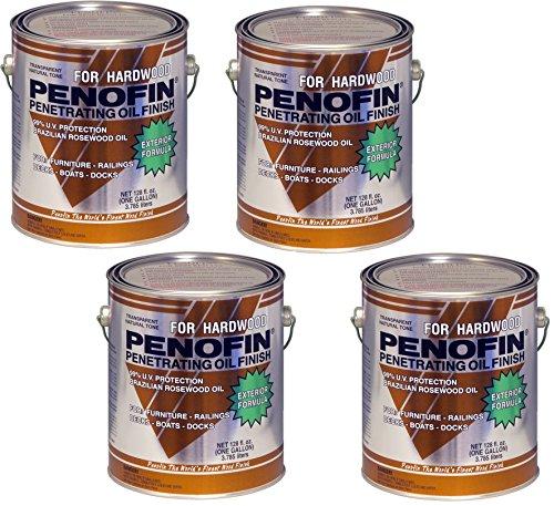 Penofin Exotic Hardwood, Ipe - 4 Pack (Brazilian Teak Natural)