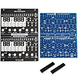#10: Division 6 Dual Mini Sequencer Eurorack PCB, Panel and ICs