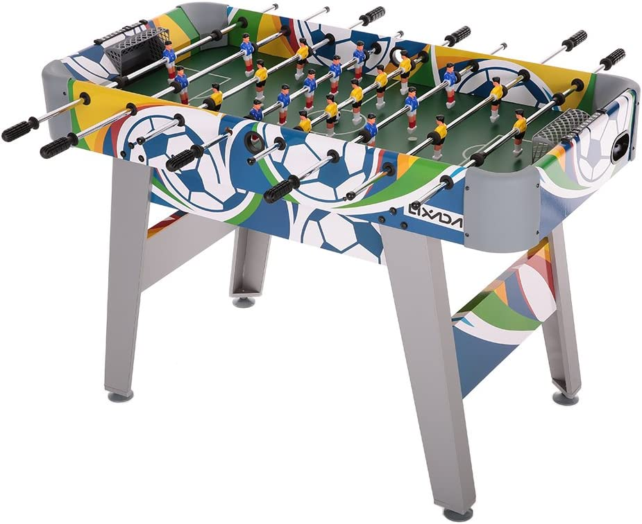 Lixada Mesa de Futbol Mesa para Sala de Juegos de Futbol Futbolín ...