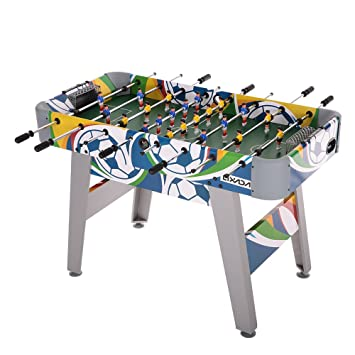 Lixada 48u0026quot; Foosball Table Competition Sized Playoff Soccer Table  Football Game Table For Kids Children