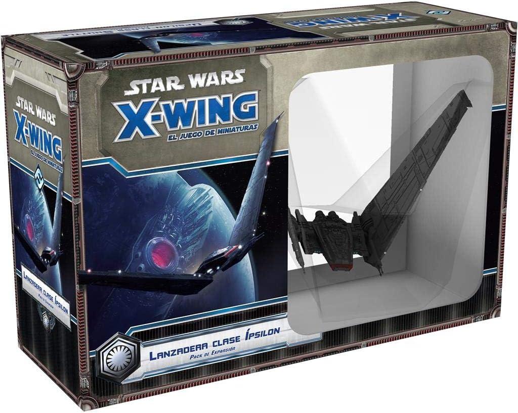 Fantasy Flight Games- Star Wars X-Wing: Lanzadera Clase Ípsilon - Español, Color (FFSWX60): Amazon.es: Juguetes y juegos