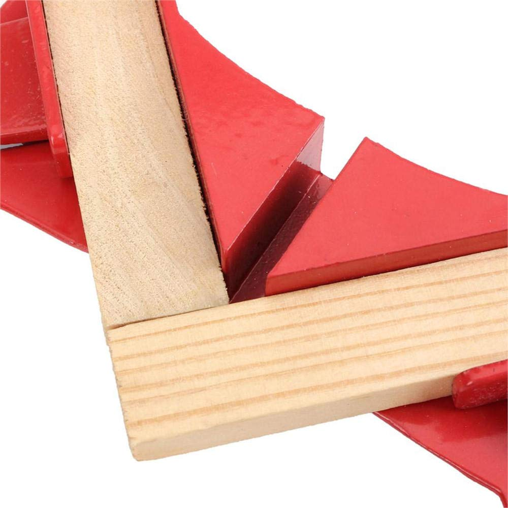 SGerste 90 Grad Winkelhalterung Winkelhalter Clip Multifunktions Bilderrahmenhalter Holzbearbeitung Klammer