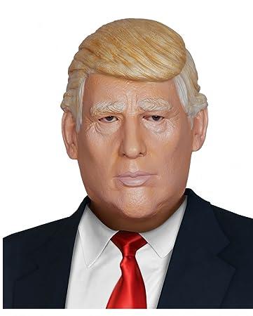 Horror-Shop Donald Trump Maske aus Latex   Politiker Maske One Size ...