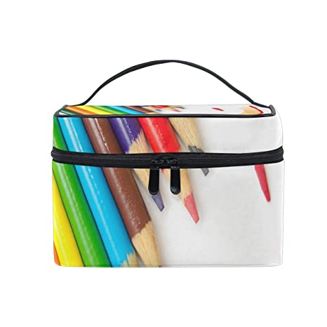 Amazon.com: Bolsa de maquillaje de burbujas coloridas bolsa ...