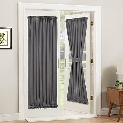 Sliding Door Curtain Measurements on