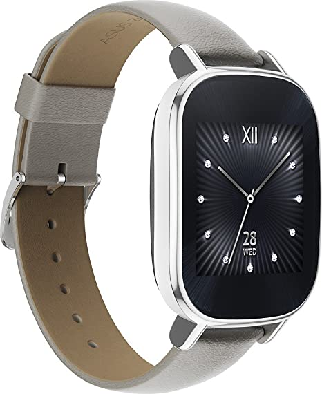 Amazon.com: Asus - ZenWatch 2 WI502Q Smartwatch Silver: Cell ...