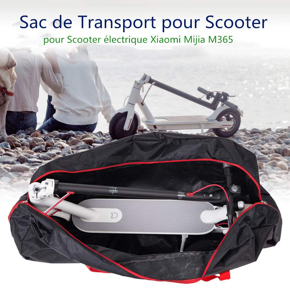 Lixada Portable Oxford Paño Scooter Bolsa Eléctrica Skateboard Bolsa de Transporte Compatible con Xiaomi Mijia M365 110 * 45 * 50 cm