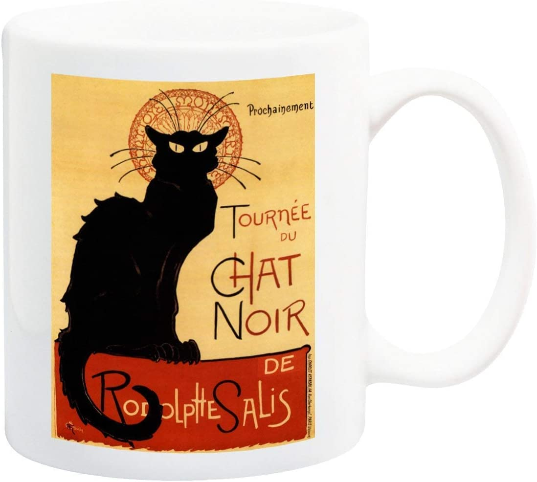 Tournee du Chat Noir Black Cat Vintage Coffee mug
