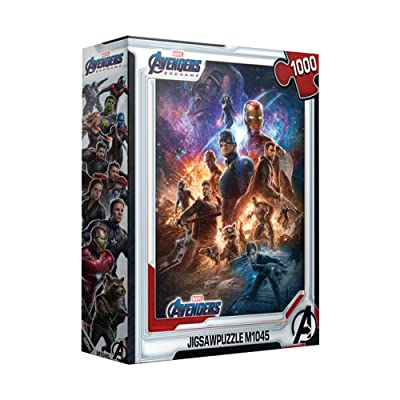 1000Piece Jigsaw Puzzle Marvel Avengers Endgame: Toys & Games