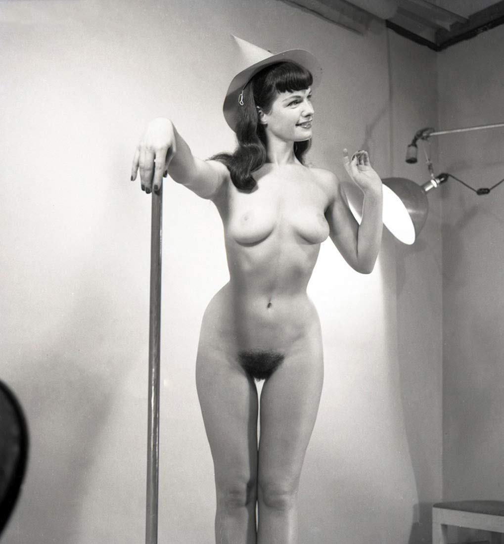 Amazon.com: 31 Betty Page Nude pinup 8x8 inch unframed