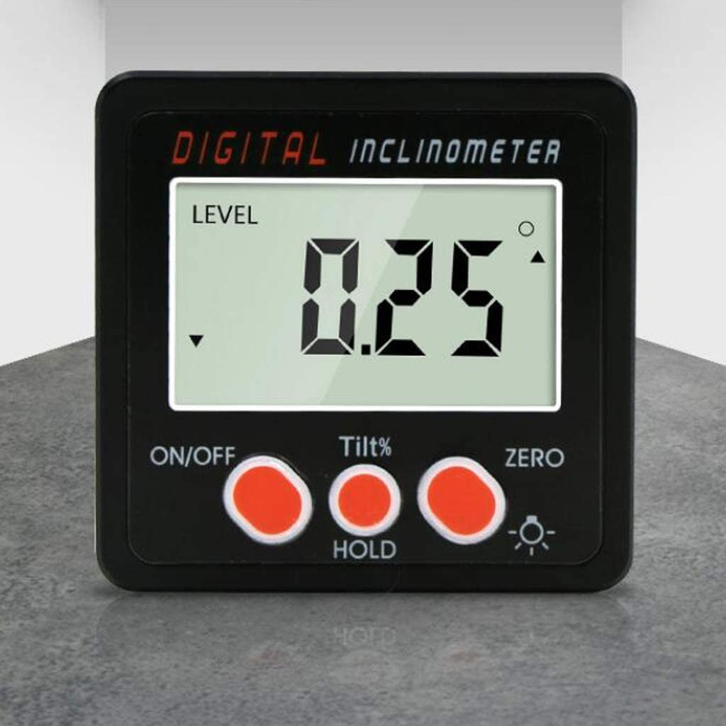 Digitaler LCD Winkelmessger/ät Winkelmesser Bevel Box Inklinometer Messger/ät