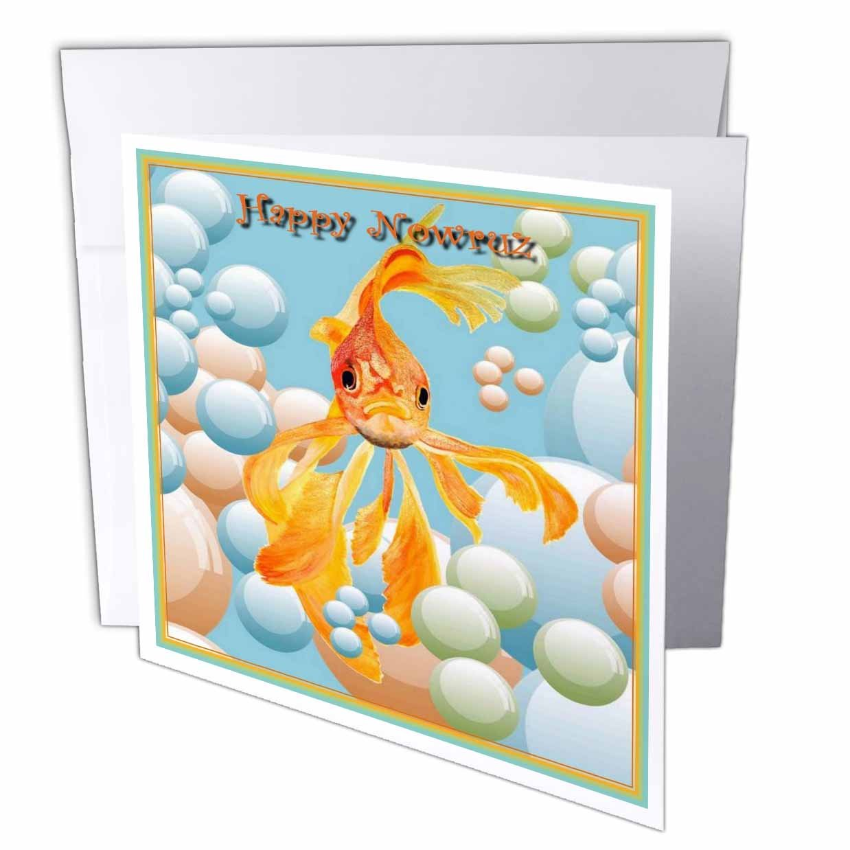 Amazon 3drose Happy Nowruz Greeting Cards 6 X 6 Inches Set
