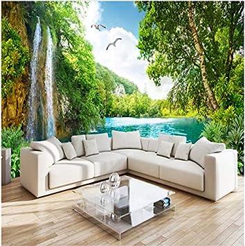 Weaeo 3d 5d 8d Benutzerdefinierte Wandbild Tapete Decor Green