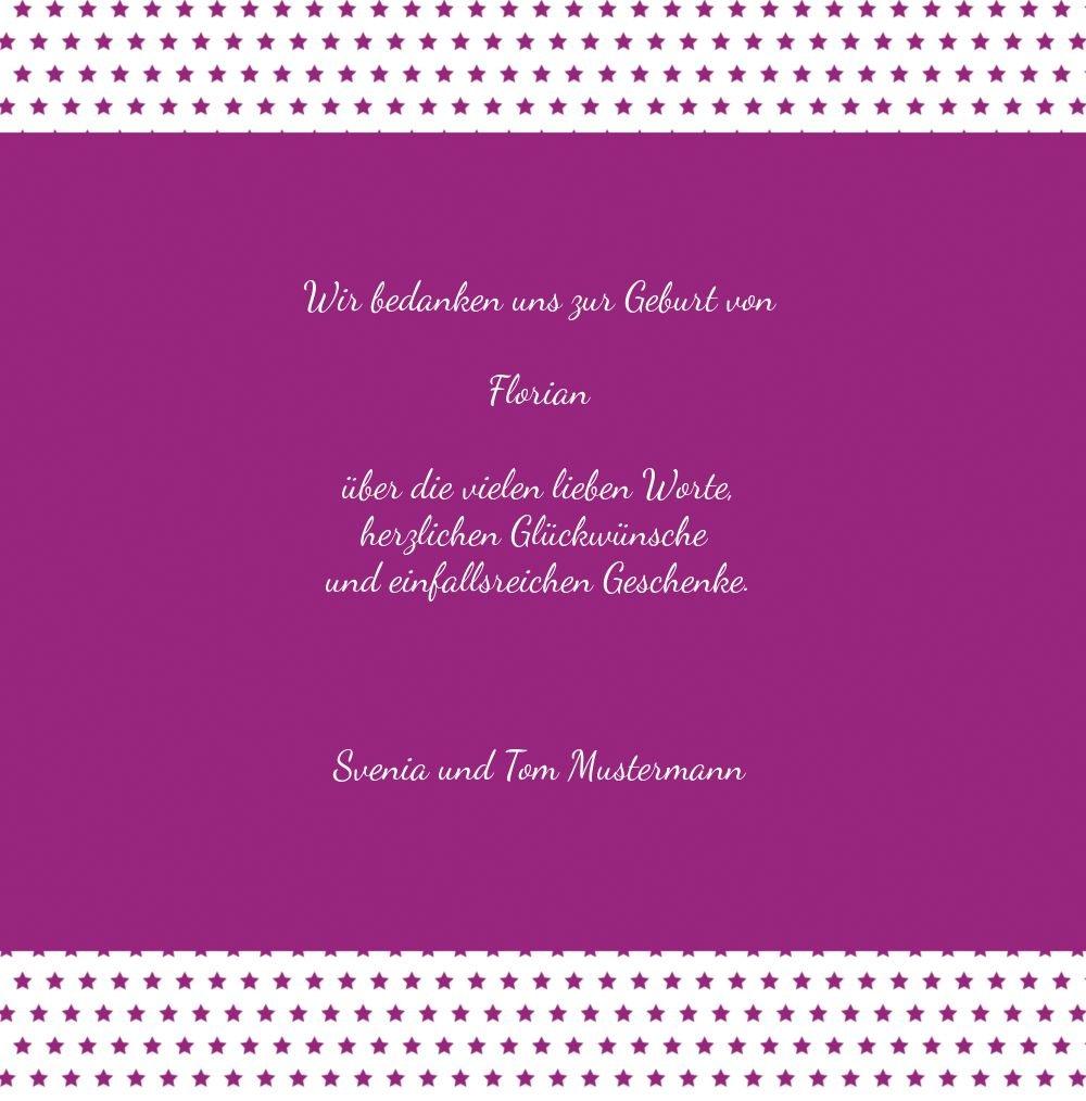 Kartenparadies Danksagung für Geburt Baby Dankeskarte Dankeskarte Dankeskarte Sternchen, hochwertige Danksagungskarte Baby inklusive Umschläge   100 Karten - (Format  145x145 mm) Farbe  braunmatsch B01N28A526 | Perfekte Verarbeitung  | Hochwertig  | Exquisite (in) Ve b59da5