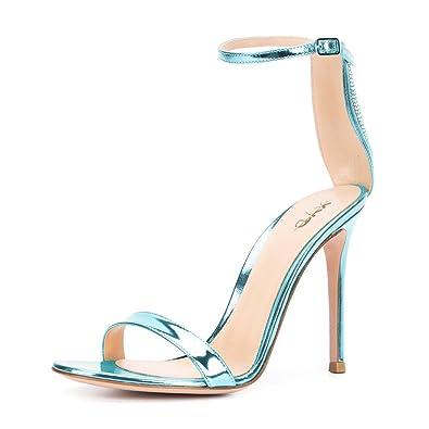 Sexy aqua dress shoes