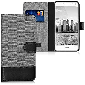 Amazon.com: kwmobile Wallet Case for Huawei Y5 (2017 ...