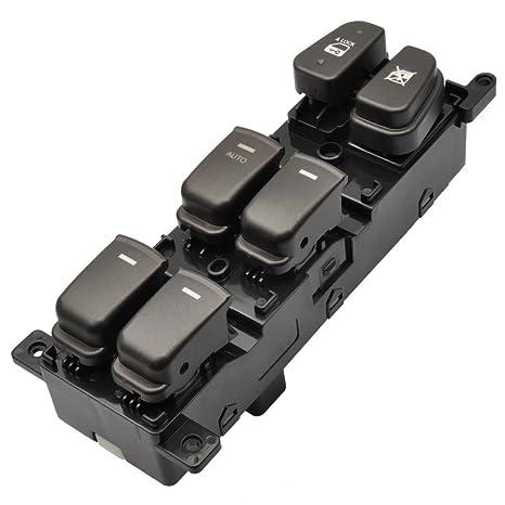 amazon com: master power window switch button driver side for 2009 2010  hyundai sonata 93570-3k600: automotive
