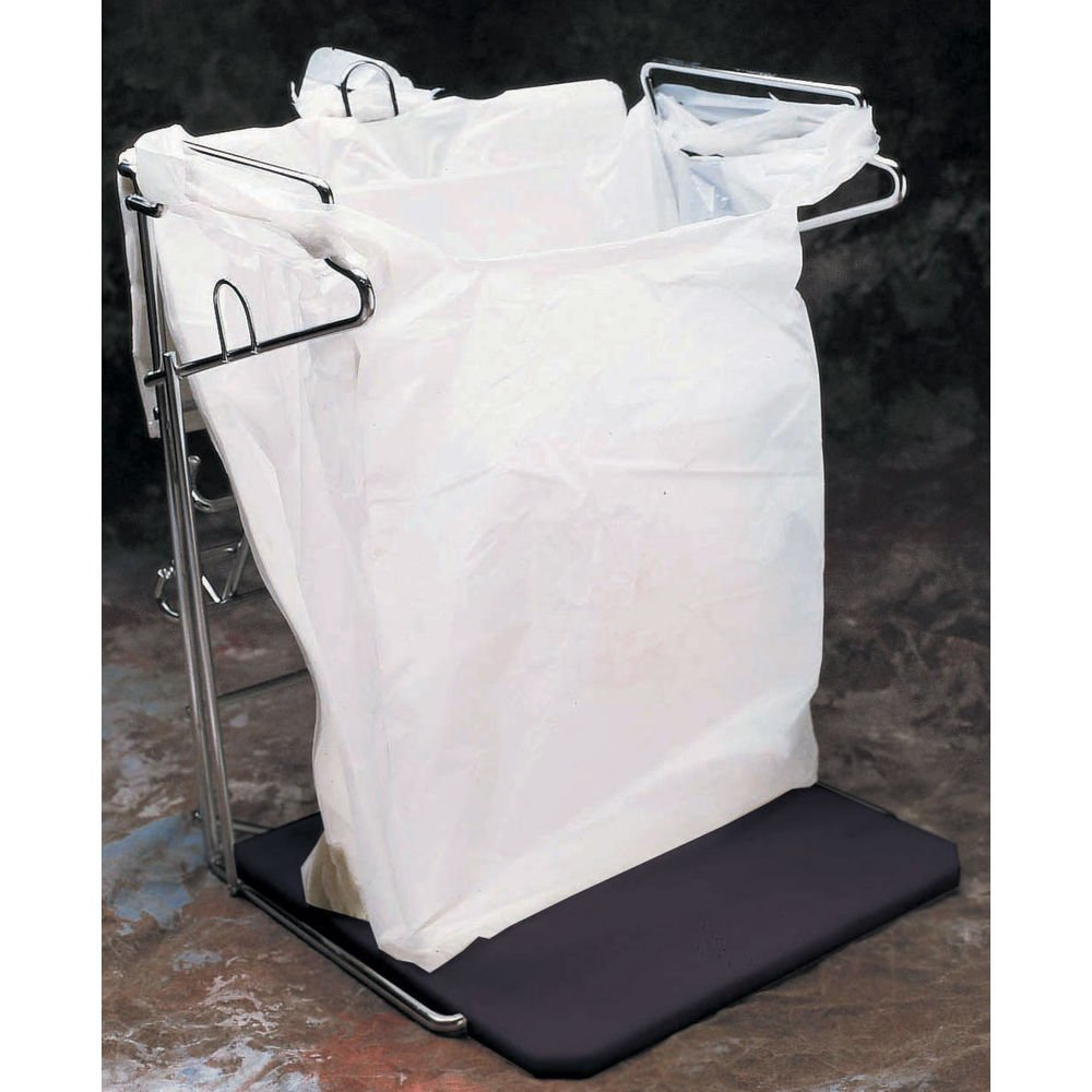 Plastic Disposable Bags White Case of 1000