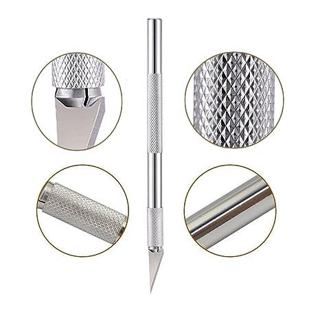 Amazon.com: 5 cuchillos para manualidades con 55 cuchillas ...