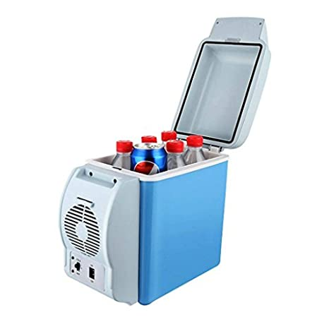 087132d2c Buy HSR Portable Fridge 12V 7.5L Auto Mini Car Travel Fridge ABS  Multi-Function Freezer Warmer Cooling   Warming Refrigerator Online at Low  Prices in India ...