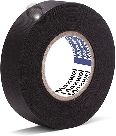 Insulation wiring loom tape WHITE twin pack