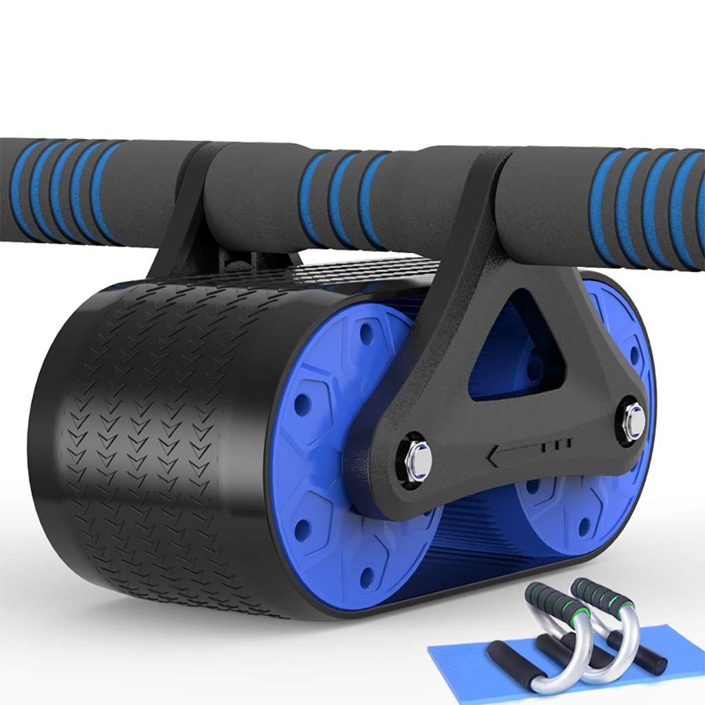 GZ Ab-Rad-Bauch-Übungs-Rad für Kernkrafttraining Knieschützer Push-Up-Ständer Fitnessgeräte & Zubehör