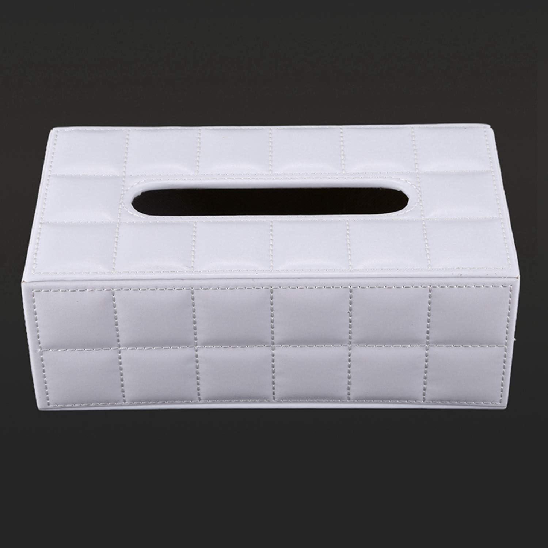 Pour papier Cherrypop /Étui de protection en cuir synth/étique pour voiture et maison Blanc