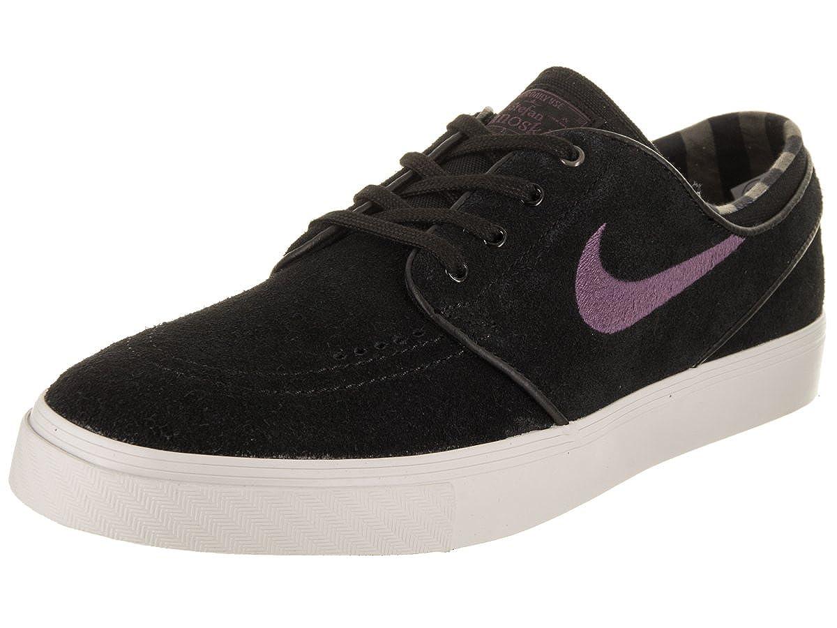 bardzo tanie fabrycznie autentyczne outlet na sprzedaż Nike Men's Zoom Stefan Janoski Black/Pro Purple Ridgerock Skate Shoe 10.5 M  US