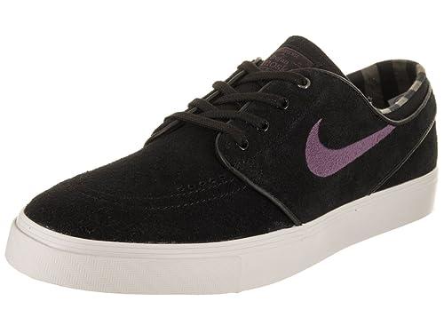 b83b19e623bd Nike Men s Zoom Stefan Janoski Black Pro Purple Ridgerock Skate Shoe 11 Men  US  Buy Online at Low Prices in India - Amazon.in