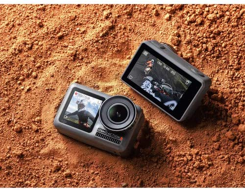 DJI OSMO Action 4K HDR Waterproof Action Camera with 2 Displays ...