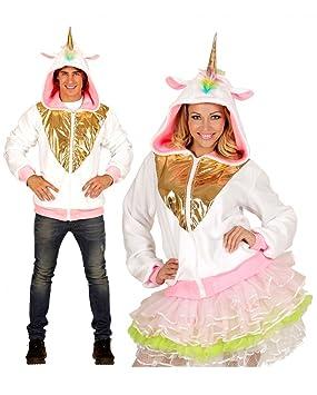 Horror-Shop chaqueta con capucha del unicornio L/XL: Amazon ...