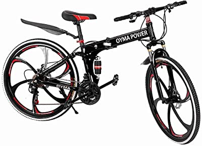OYMA Power Strong Man Folding Mountain Bike
