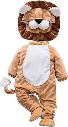 La vogue Bebé Ropa Disfraz Franela Peleles Pijama Una Pieza ...
