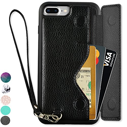 iPhone Wallet ZVEdeng Leather Protective