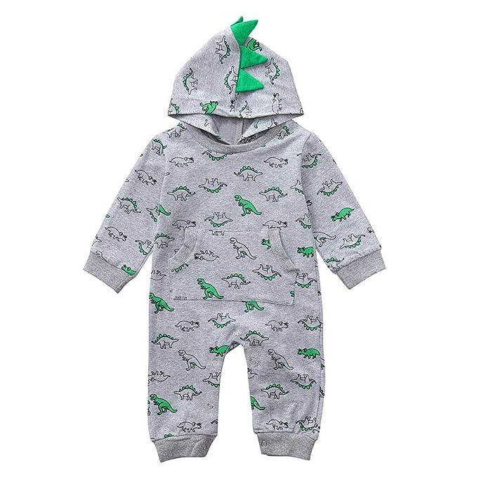 Amazon.com: Newborn Infant Baby Girl Boy Summer Outfits Dinosaur ...