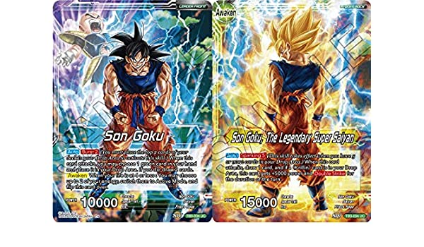 Amazon.com: Dragon Ball Super TCG - Son Goku // Son Goku ...