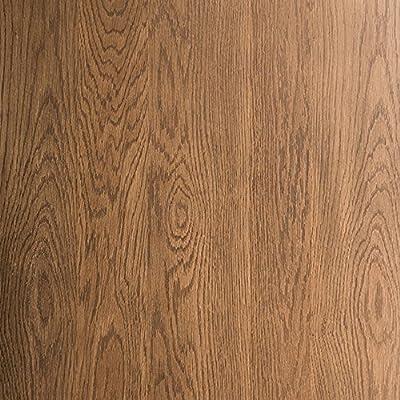 Nathan James 31101 Doxa Modern Industrial Coffee Table Wood and Metal Box Frame