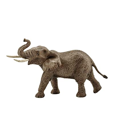 Schleich Wild Life African Elephant Male Educational Figurine for Kids Ages 3-8: Schleich: Toys & Games