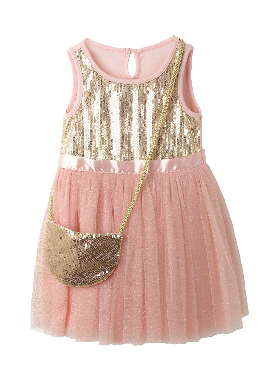 f88990c43 Package included: 1x Girls Dresses ❀This Dress is ideal to wear in any  occasions, special for birthday party, baby ...