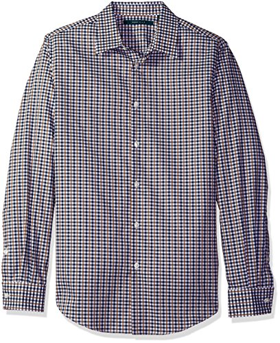 Perry Ellis Checkered Dobby Shirt