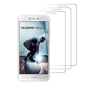 Peloo Protector de Pantalla para Huawei P8 Lite 2017 [3 Unidades ...