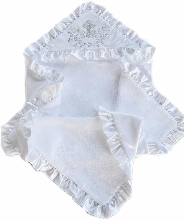 Christening Cotton Blanket Christening Baptism Towel Christening Baby Gift Idea