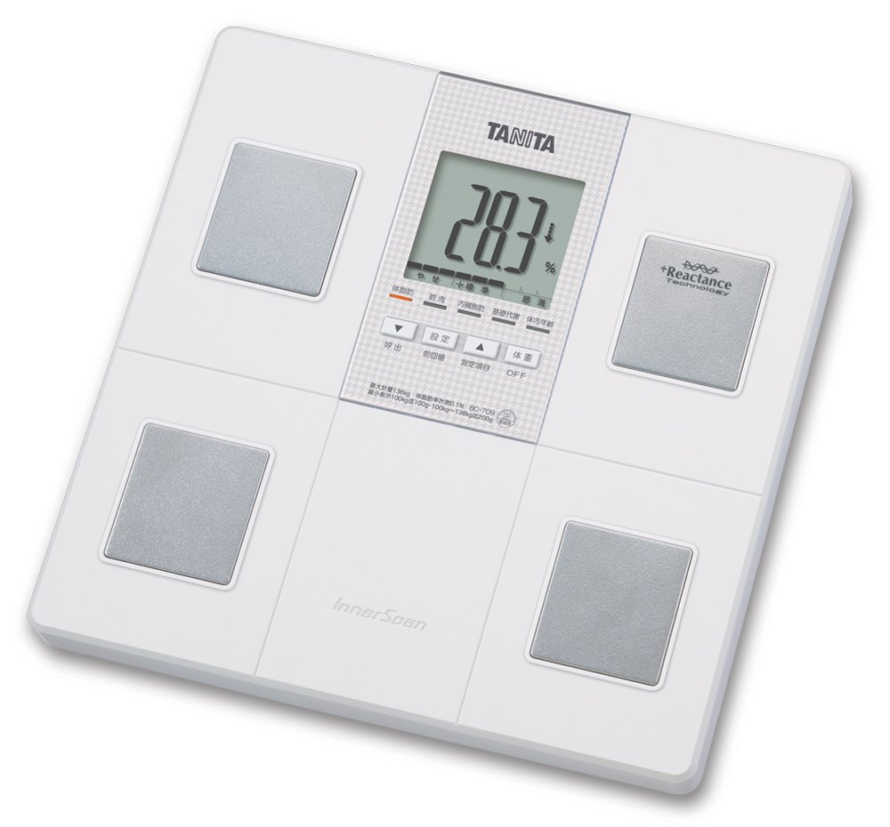 TANITA Body composition meter (with automatic recognition function) BC-7 09-WH (White)