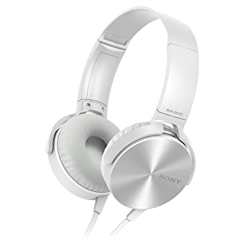 b5ea34ed3d4 Sony MDR-XB450 Xtra Bass Overhead Headphones - Silver: Amazon.co.uk:  Electronics
