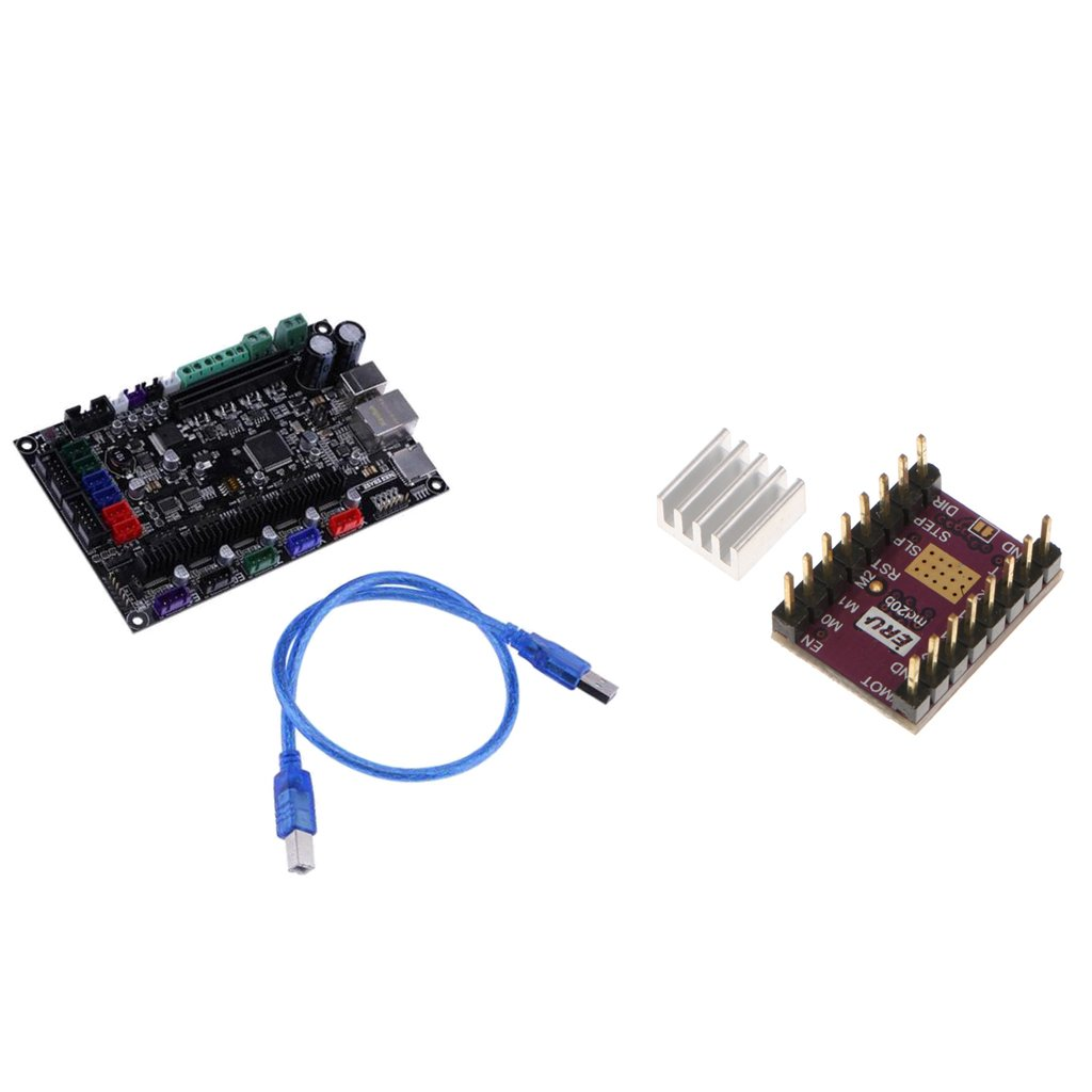 Dovewill 3D Printer MKS SBASE V1.3 32bit Motherboard+DRV8825 Stepper Motor Driver& Heat Sink by Dovewill