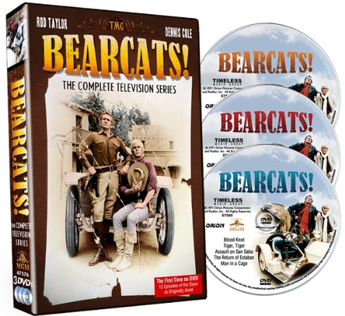 DVD : The Bearcats!: The Complete Television Series (3 Disc)