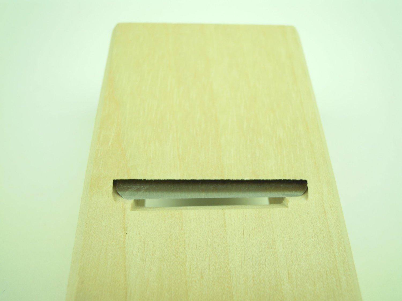 Japanese Wood Block Plane KANNA Cutter SENKICHI 40 x 150mm Carpenter's Tool NEW