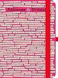 Address & Birthdays Book - Comstock
